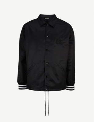 THE KOOPLES Logo-embroidered shell jacket