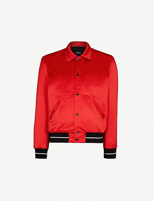 9f0a386141f2 THE KOOPLES Striped-trim satin jacket