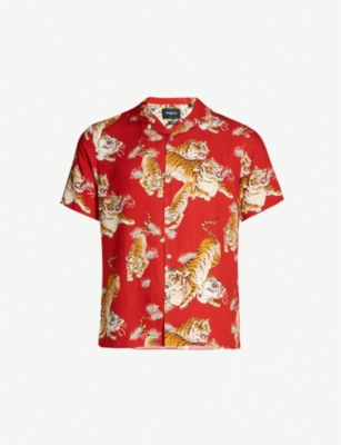 THE KOOPLES Wako crepe shirt