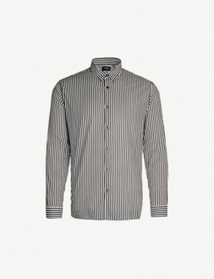 THE KOOPLES Striped cotton shirt