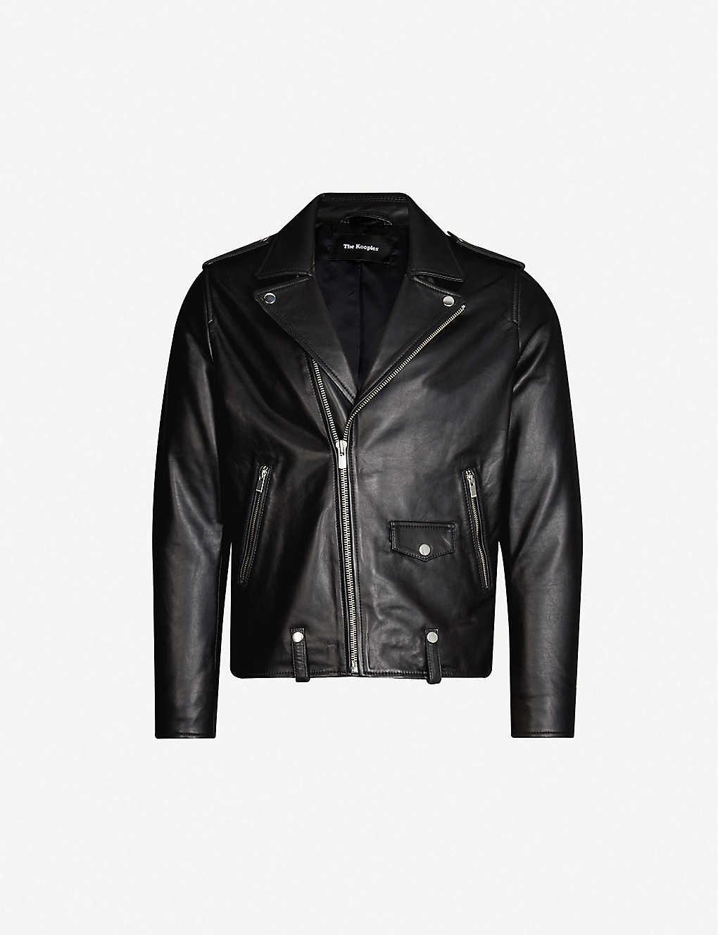 8152f4bec3 THE KOOPLES - Leather biker jacket | Selfridges.com