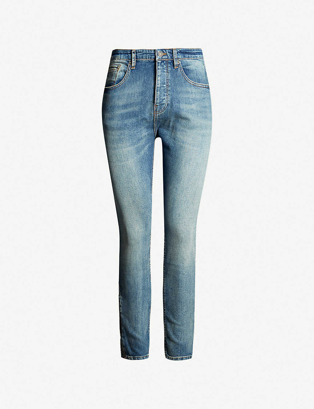 7b0a56d138c THE KOOPLES - Slim-fit faded skinny jeans | Selfridges.com
