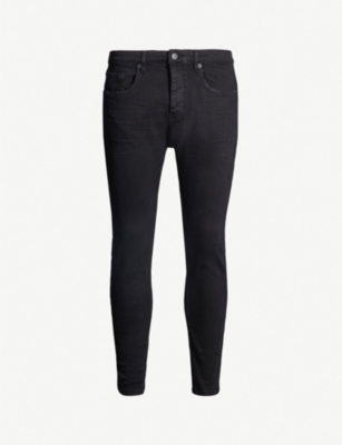 THE KOOPLES Distressed mid-rise skinny jeans
