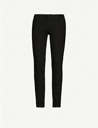 THE KOOPLES: Mid-rise slim-fit denim jeans