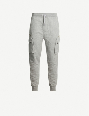 THE KOOPLES Patch-pocket cotton-blend jogging bottoms