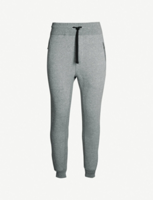 THE KOOPLES Relaxed-fit tapered stretch-jersey jogging bottoms