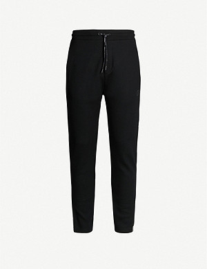THE KOOPLES Zipped-cuff stretch-jersey jogging bottoms