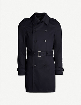 THE KOOPLES: Double-breasted cotton trench coat