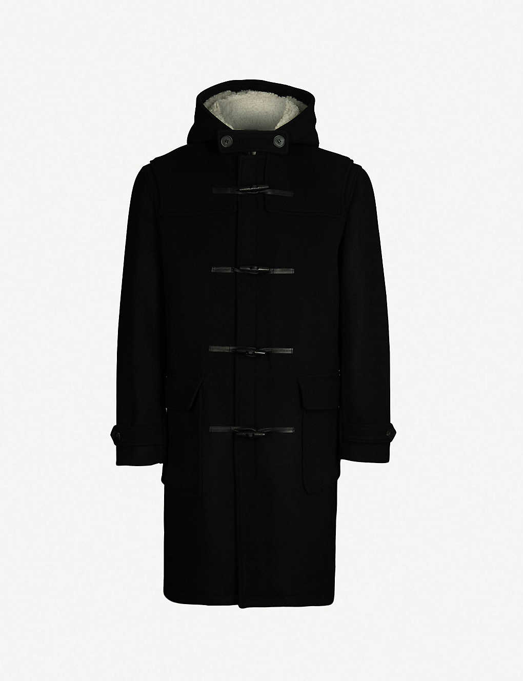 66d10d45a9a THE KOOPLES - Hooded wool-blend duffle coat | Selfridges.com