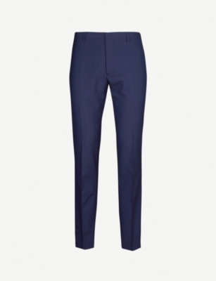 THE KOOPLES Regular-fit tapered wool trousers