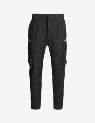 THE KOOPLES Regular-fit tapered cotton trousers