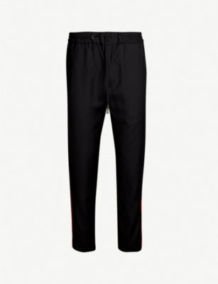 THE KOOPLES Tape panels wool trousers
