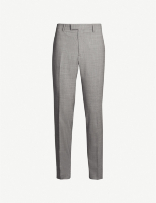THE KOOPLES Slim-fit tapered wool trousers