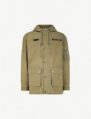 aa8ed9113c1 TED BAKER - Gouda faux-fur trim hood parka | Selfridges.com