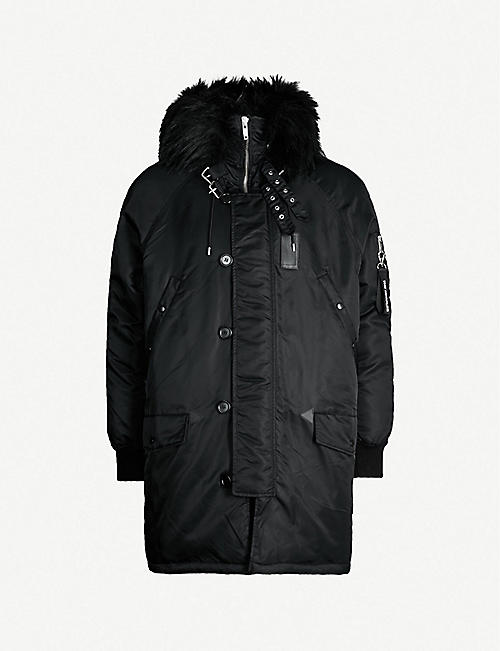 THE KOOPLES Padded shell parka coat 51a6334ff3ee