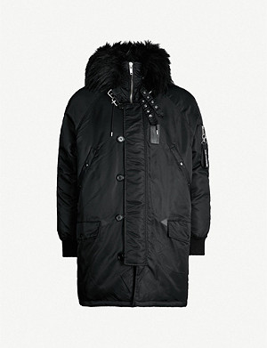 THE KOOPLES Padded shell parka coat