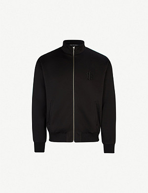 THE KOOPLES Logo-embroidery jersey jacket