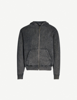 THE KOOPLES Washed oversized cotton-jersey hoody