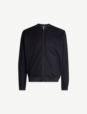 THE KOOPLES Varsity cotton-blend jacket
