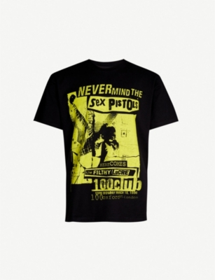 THE KOOPLES Sex Pistols print cotton-jersey T-shirt