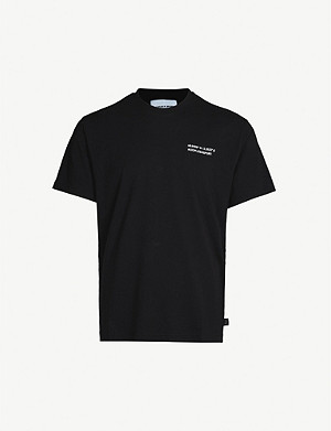 THE KOOPLES Branded cotton-jersey T-shirt