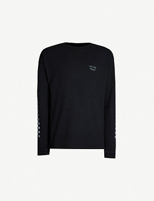 THE KOOPLES Nevermind cotton-jersey long sleeve T-shirt