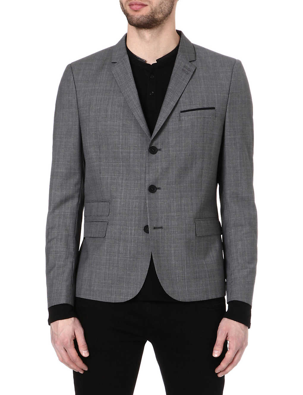 32cd72c1db2 THE KOOPLES - Prince of Wales suit jacket | Selfridges.com