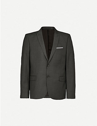THE KOOPLES: Single-breasted wool jacket