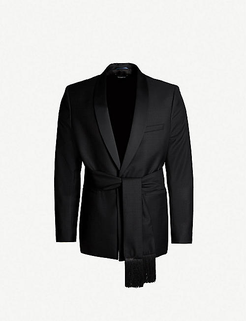THE KOOPLES Belted wool blazer