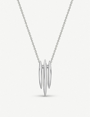SHAUN LEANE Triple Arc sterling silver necklace