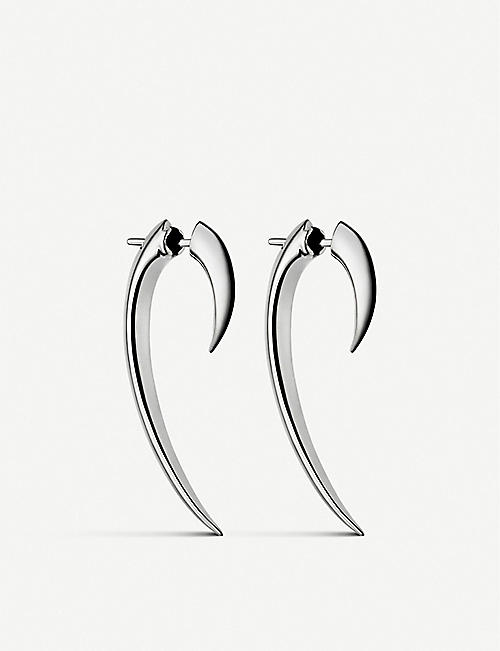 SHAUN LEANE Hook sterling silver earrings