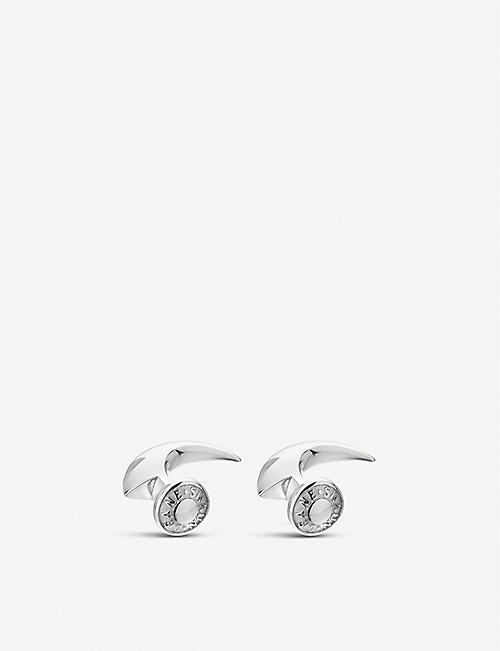 SHAUN LEANE: Hook sterling-silver cufflinks set of two
