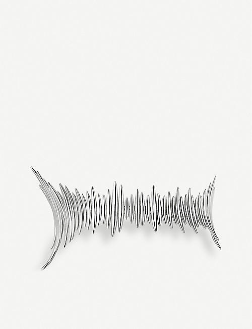 SHAUN LEANE: Quill sterling silver choker necklace