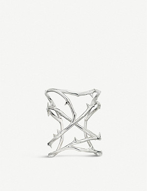 SHAUN LEANE Rose Thorn sterling-silver cuff