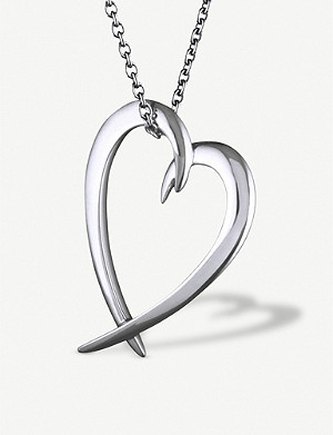 SHAUN LEANE Heart sterling-silver pendant necklace