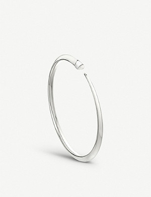 SHAUN LEANE Tusk Sabre sterling silver bangle