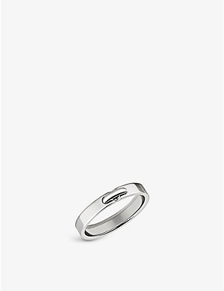 CHAUMET: Liens Evidence platinum wedding band