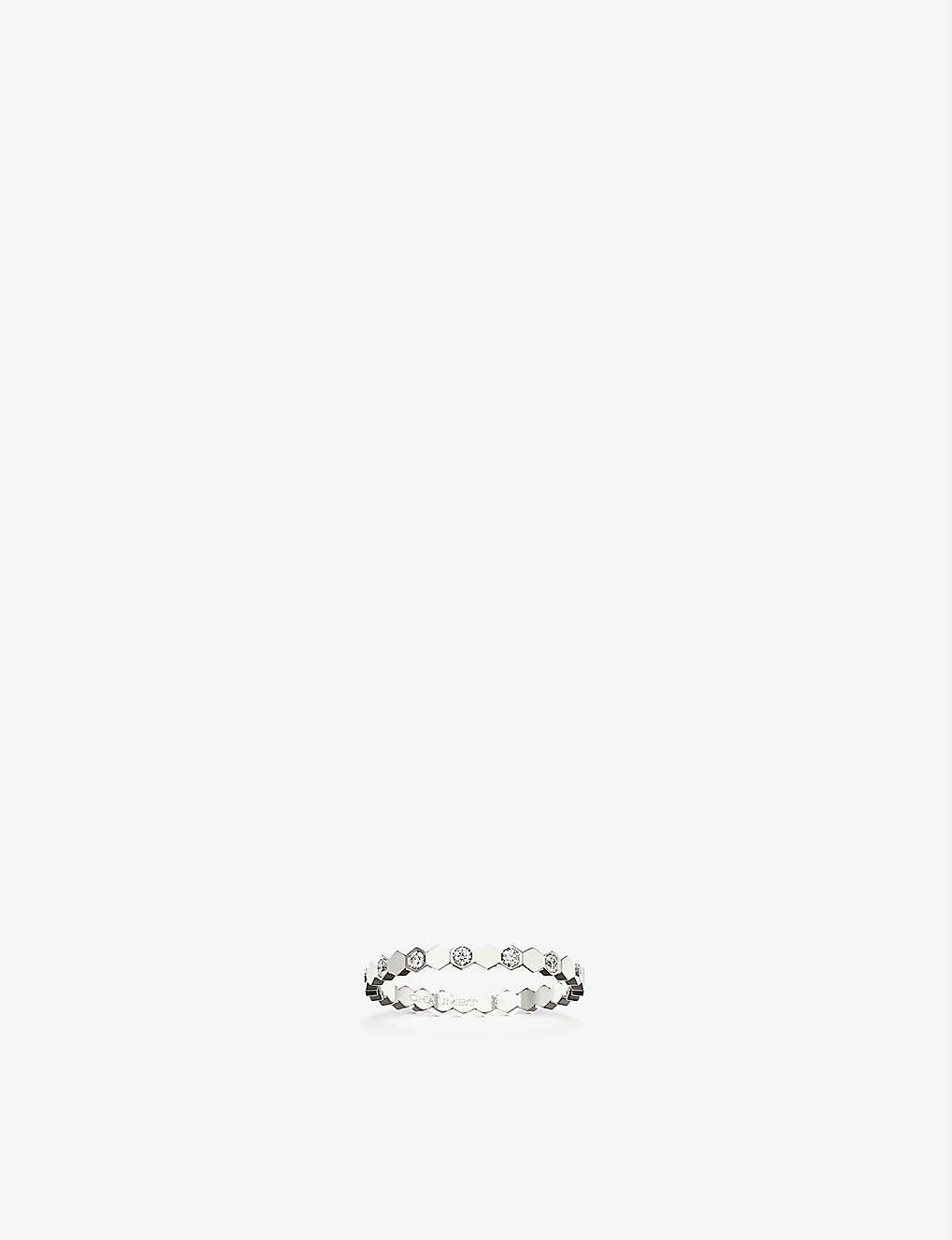 CHAUMET: Bee my love 18ct white-gold and diamond ring
