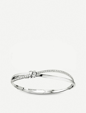 CHAUMET Liens Séduction 18ct white gold and diamond bracelet