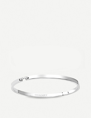 CHAUMET Liens Evidence 18ct white-gold and diamond bracelet