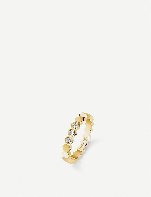 CHAUMET Bee My Love 18ct yellow-gold and diamond ring