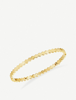 CHAUMET Bee My Love 18ct yellow-gold bangle