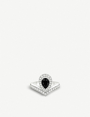 CHAUMET Joséphine Aigrette 18ct white-gold, spinel and diamonds ring