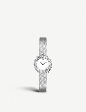 CHAUMET W20611-20W Hortensia Eden stainless steel and diamond watch