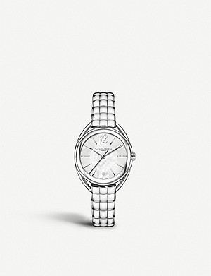 CHAUMET W23613-24A Liens Lumiere steel, diamond and Mother of Pearl watch