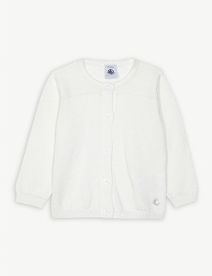 PETIT BATEAU Knitted cotton cardigan 3-36 months