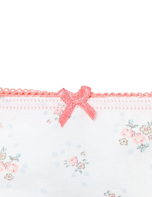 PETIT BATEAU Floral knickers 2-12 years