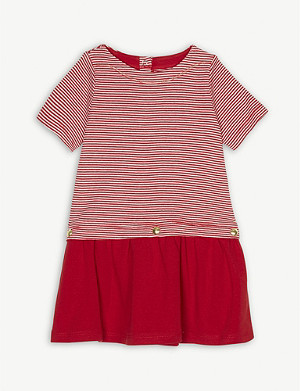PETIT BATEAU Striped cotton dress 3-36 months