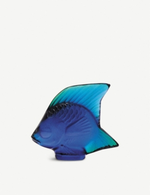 LALIQUE Fish crystal glass ornament 53cm