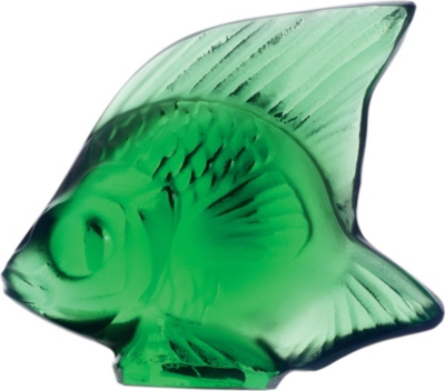 LALIQUE Fish crystal ornament
